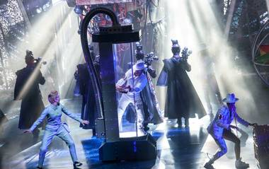 "A sneak peek of Cirque du Soleil's ""Michael Jackson One"" at Mandalay Bay on Tuesday, May 7, 2013."