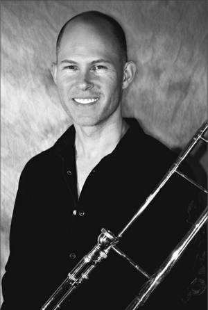 Trombonist Michael Turnbull.