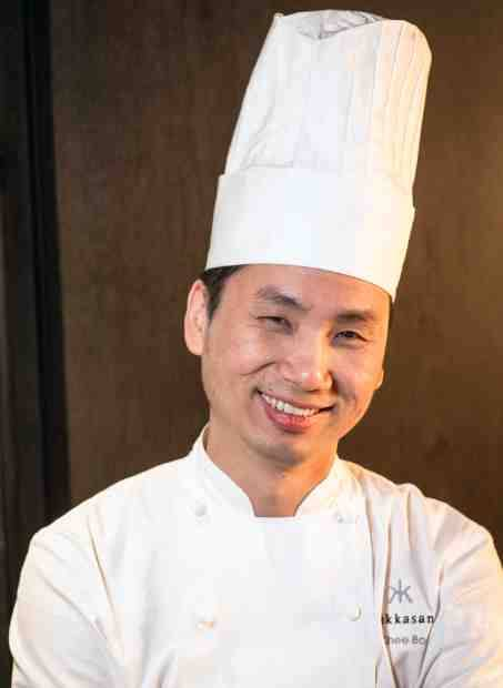 Chef Ho Chee Boon at Hakkasan Las Vegas at MGM Grand.