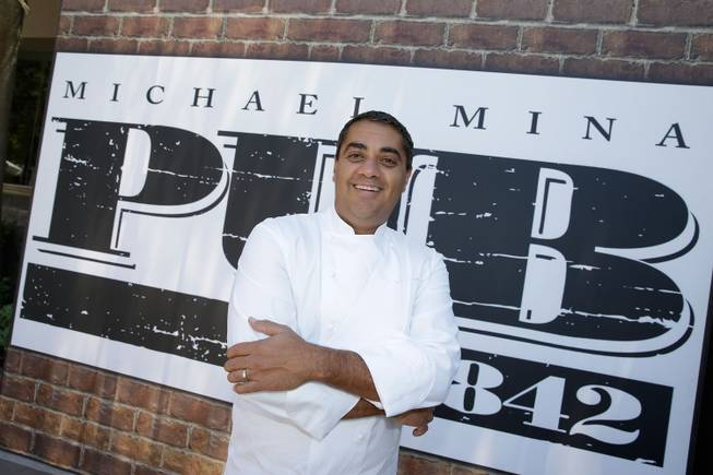 Chef Michael Mina cooks poolside presented by Bon Appetit as ...
