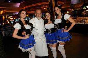 2013 Vegas Uncork'd: Beer Garden With Hubert Keller