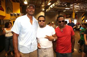 Boyz II Men at Pole Position Raceway