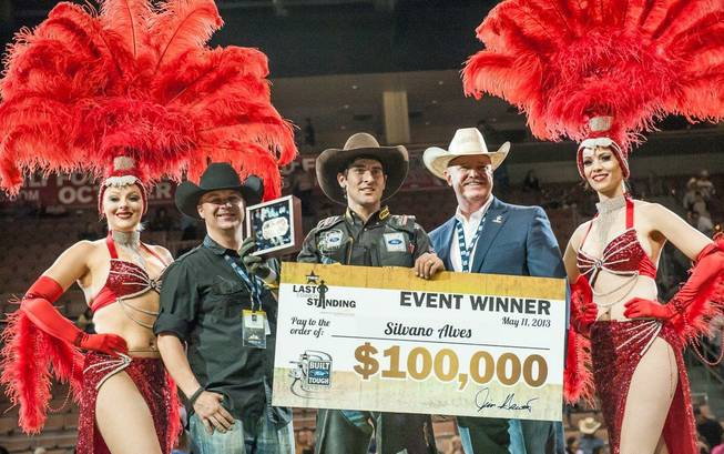Silvano Alves of Brazil won the 2013 PBR Last Cowboy ...