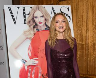 Vegas Magazine's 10th anniversary celebration with cover girl Heather Graham at Mandarin Oriental on Thursday, May 9, 2013.