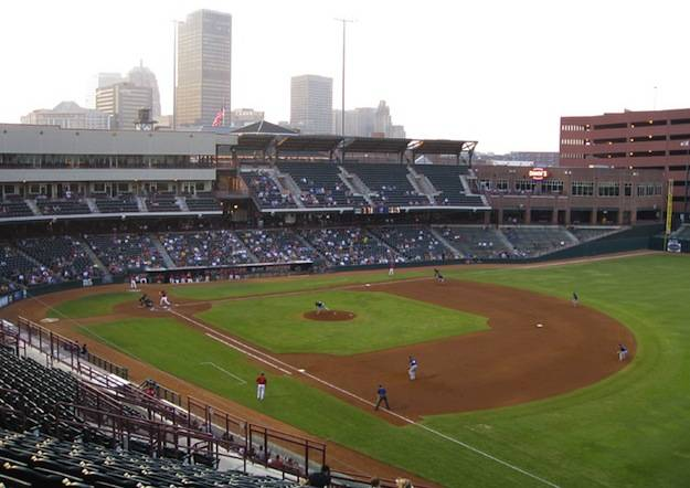 Oklahoma City RedHawks, Chickasaw Bricktown Ballpark