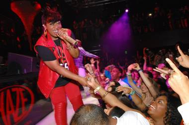 Missy Elliott hosts and performs at Haze on Thursday, May 16, 2013, in Aria.