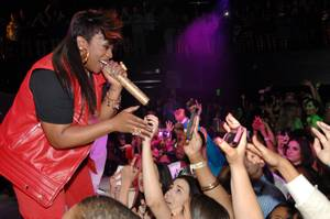 Missy Elliott at Haze