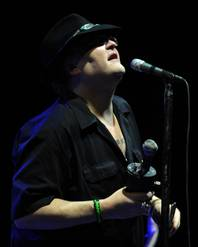 "John Popper of Blues Traveler performs during the ""Last Summer on Earth Tour 2012"" at the Cruzan Amphitheater on July 18, 2012 in West Palm Beach, Florida."