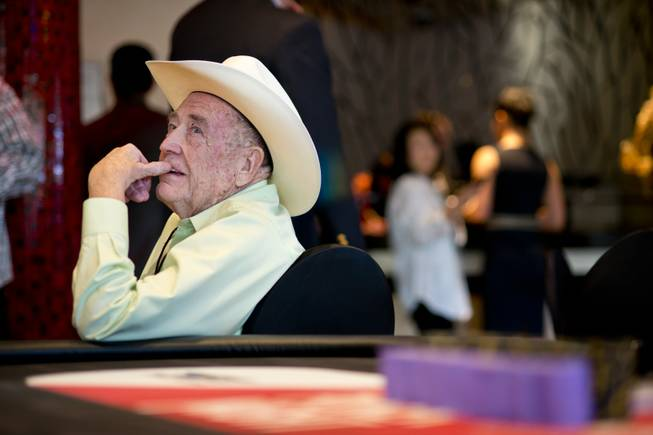 Doyle Brunson at Tiger's Poker Night sponsored by World Poker ...