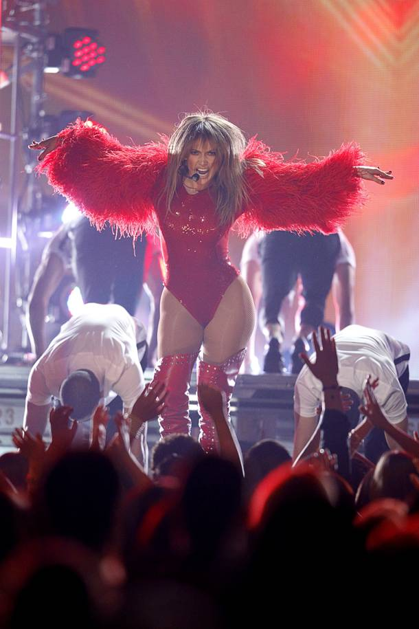 Jennifer Lopez performs during the 2013 Billboard Music Awards at the MGM Grand Garden Arena Sunday, May 19, 2013.