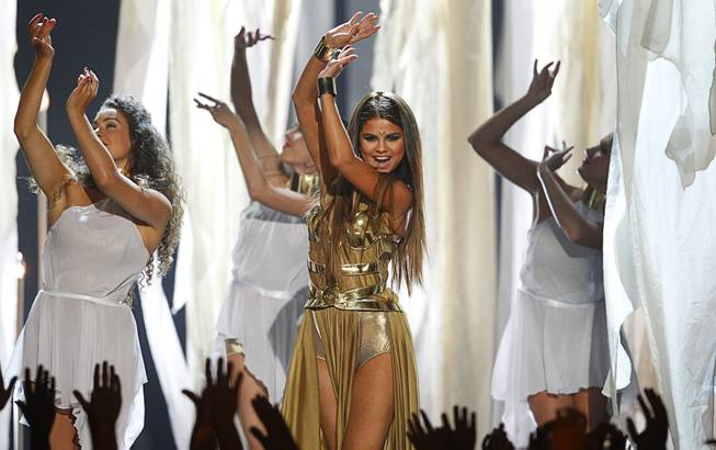 Selena Gomez performs during the 2013 Billboard Music Awards at MGM Grand Garden Arena on Sunday, May 19, 2013.