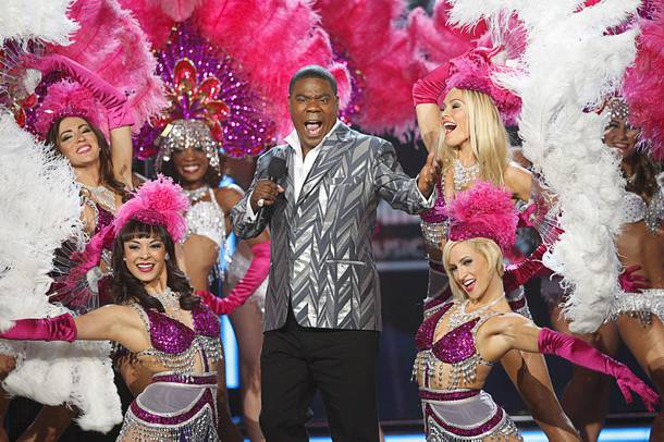 Host Tracy Morgan speaks onstage during the 2013 Billboard Music Awards at the MGM Grand Garden Arena Sunday, May 19, 2013.