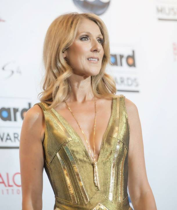 Caesars Palace headliner Celine Dion at the 2013 Billboard Music Awards at MGM Grand Garden Arena on Sunday, May 19, 2013.