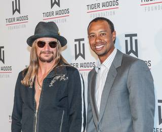 2013 Tiger Jam with headliner Kid Rock and host Tiger Woods at Mandalay Bay Events Center on Saturday, May 18, 2013.