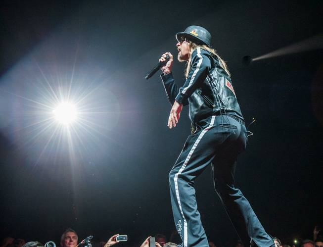2013 Tiger Jam with host Tiger Woods and headliner Kid Rock at Mandalay Bay Events Center on Saturday, May 18, 2013.