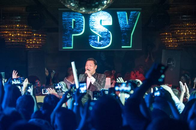 Psy hosts and performs at Lavo in the Palazzo on ...