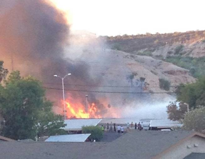 Henderson Brush Fire