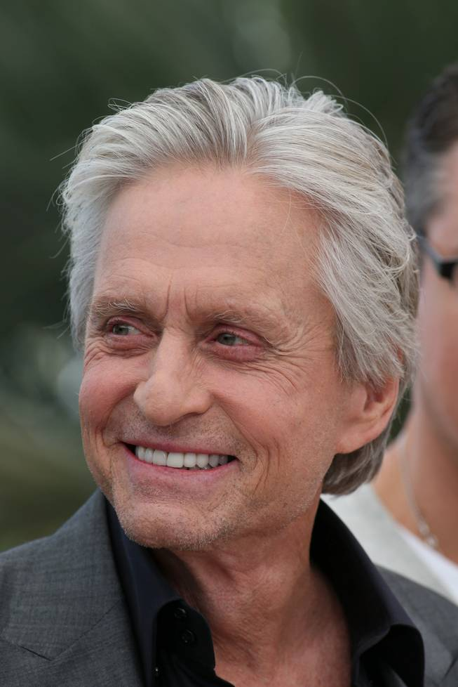 Michael Douglas at the 2013 Cannes Film Festival.