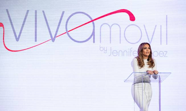 Jennifer Lopez promotes Verizon's Viva Movil by Jennifer Lopez at ...