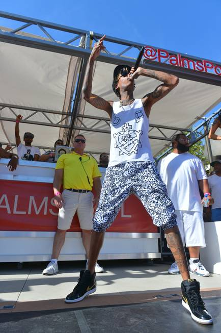 Wiz Khalifa at Ditch Fridays at the Palms on Friday, ...