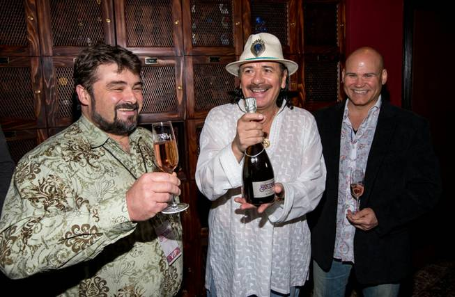Carlos Santana and Mumm Napa launch Supernatural Rose at House ...