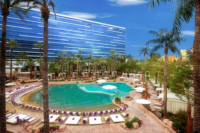 Paradise Beach North, Paradise Beach South and the Nirvana Pools – Hard Rock Hotel & Casino