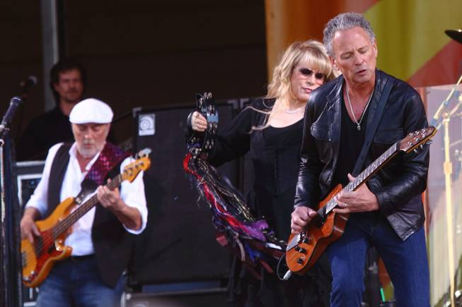 Fleetwood Mac perform at The New Orleans Jazz & Heritage Festival on Saturday May 4, 2013 in New Orleans, Louisiana.