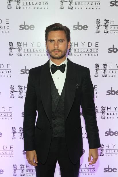 Scott Disick celebrates his 30th birthday at Hyde Bellagio on ...