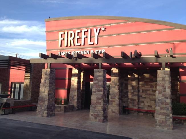 Firefly Tapas Kitchen and Bar's new location, 3824 Paradise Road, is seen on opening day, Friday, May 24, 2013.