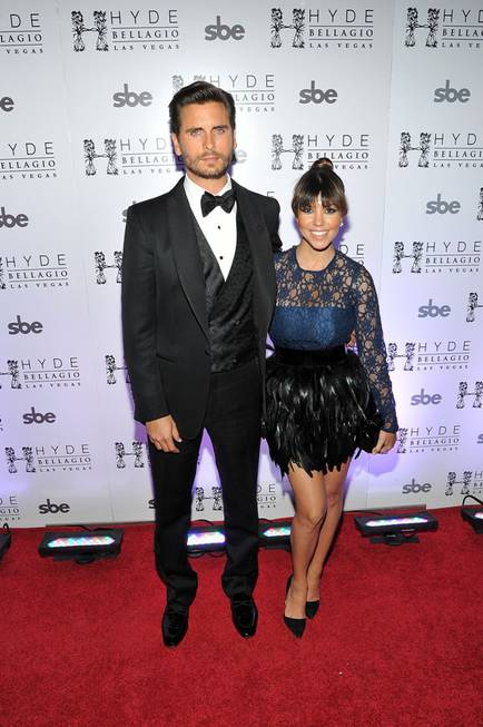 Scott Disick, with Kourtney Kardashian, celebrates his 30th birthday at ...