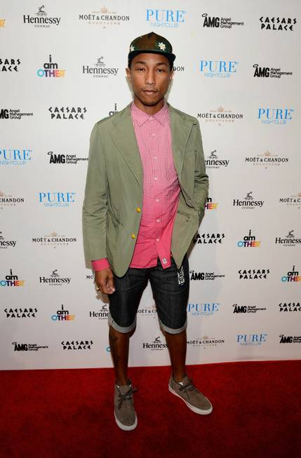 LAS VEGAS, NV - MAY 26: Recording artist Pharrell Williams ...