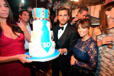 """Lord Disick: Lifestyles of a Lord"" and ""Keeping Up With the Kardashians"" star Scott Disick was the epitome of handsome in a tuxedo, and girlfriend ..."