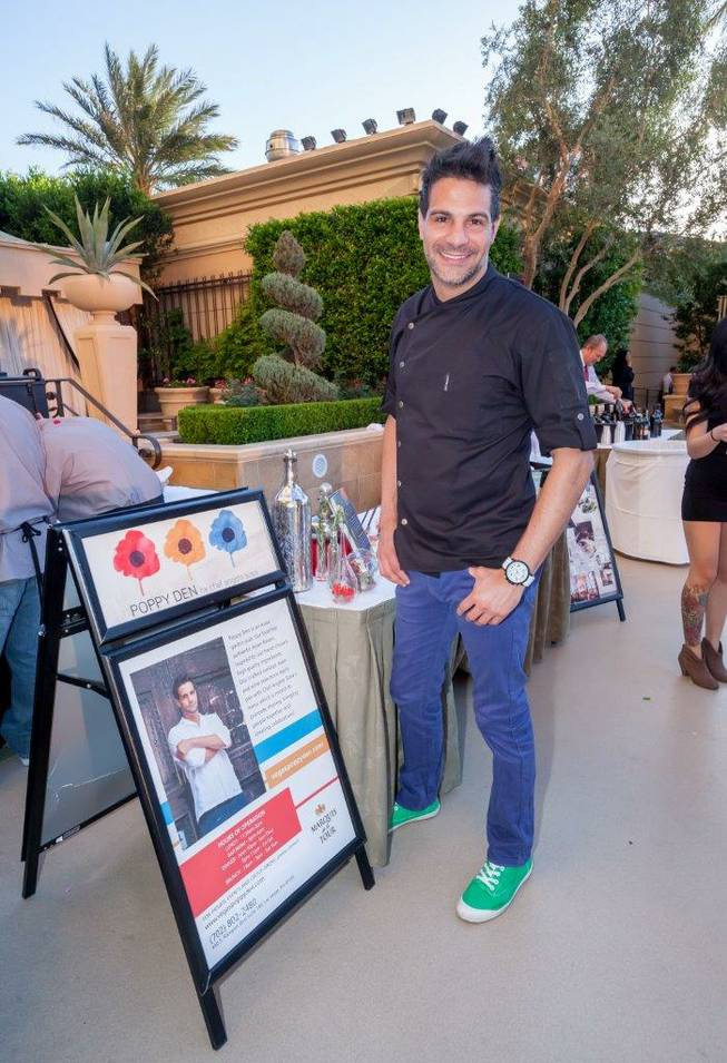 The Daniel Boulud announcement and the 2013 Epicurean Affair at the Palazzo on Thursday, May 23, 2013. Angelo Sosa of Poppy Den in Tivoli Village is pictured here.