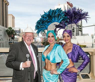 "Oscar Goodman's ""Being Oscar"" bash and book signing at The Mob Museum in Downtown Las Vegas on Saturday, May 25, 2013."