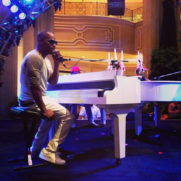 Jamie Foxx at the Palazzo on Tuesday, May 27, 2013.
