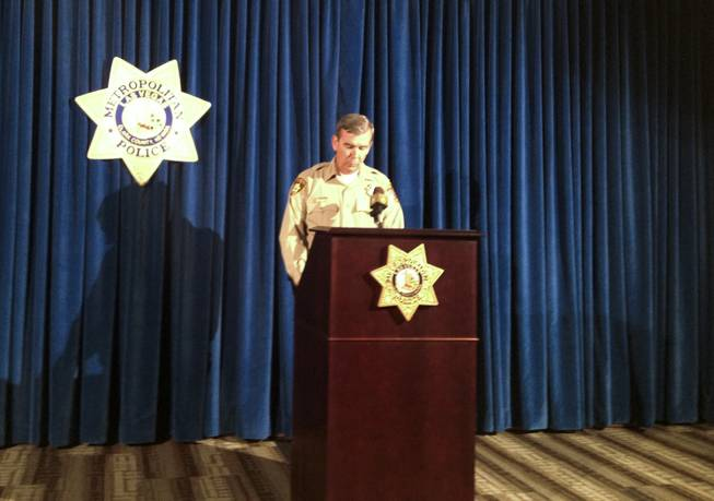 Sheriff Doug Gillespie addresses his decision to recommend the termination of Officer Jesus Arevalo on Friday, May 31, 2013.