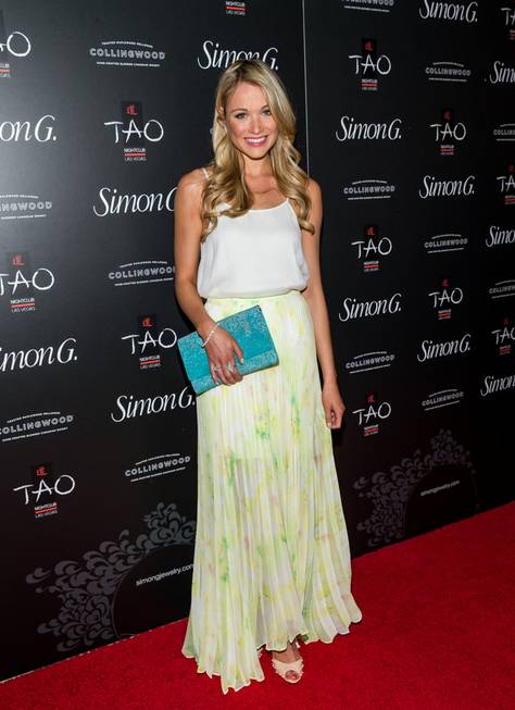 Katrina Bowden attends the 2013 Simon G. Jewelry Summer Soiree ...