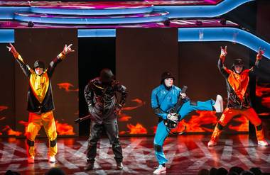 "The Jabbawockeez's opening night of their new show ""Prism"" at Luxor on Friday, May 31, 2013."