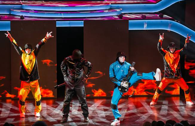 The Jabbawockeez's opening night of their new show