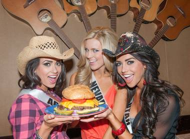 The whirlwind TV location shoots for the 2013 Miss USA Pageant princesses continue at full pace. On Tuesday, it was a wild cowgirl line-dancing ...