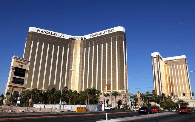 The exterior of Mandalay Bay on Thursday, June 6, 2013.