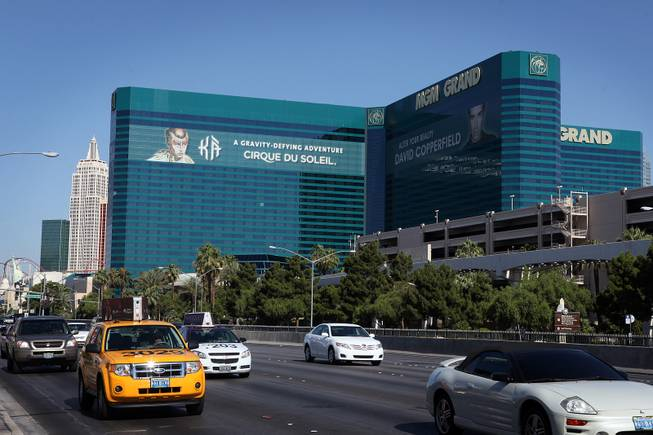 The exterior of the MGM Grand on Thursday, June 6, 2013 on the Las Vegas Strip.