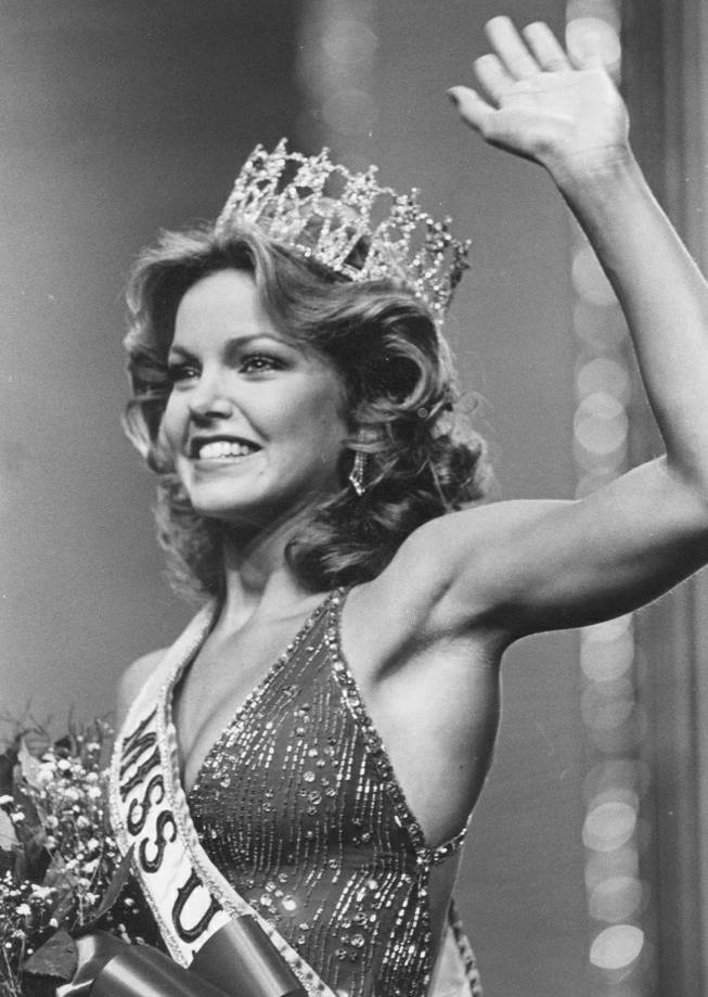 Miss USA 1983 Julie Hayek.