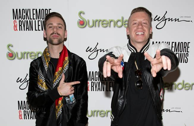 Ryan Lewis and Macklemore celebrate Surrender's third anniversary at Encore ...