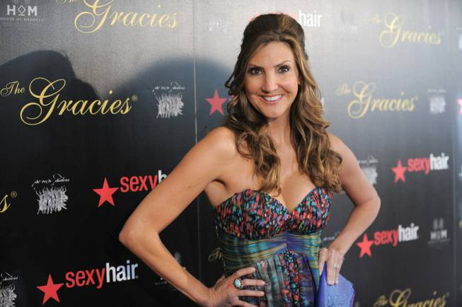 Actress Heather McDonald arrives at the Gracie Awards Gala on Tuesday, May 22, 2012 in Los Angeles, Calif.