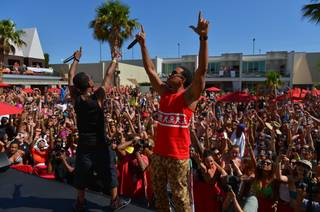 Ludacris hosts and performs at Ditch Fridays at Palms Pool on Friday, June 7, 2013.