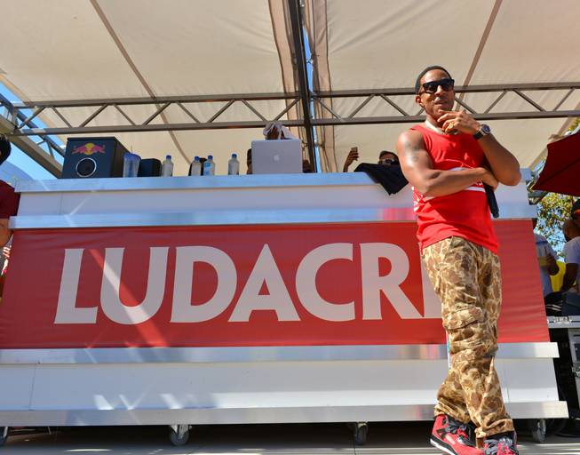 Ludacris hosts and performs at Ditch Fridays at Palms Pool ...