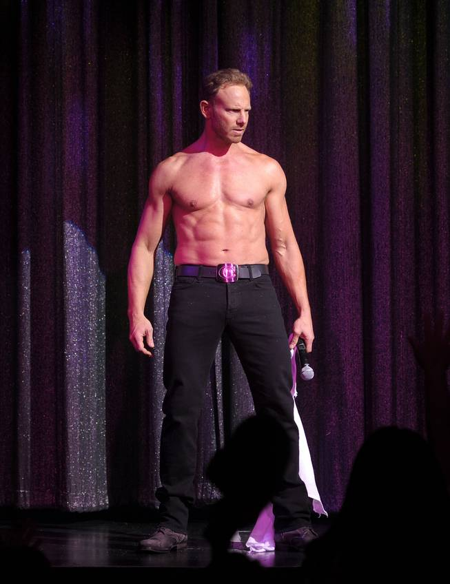 Chippendales and guest host Ian Ziering at The Rio on Saturday, June 8, 2013.