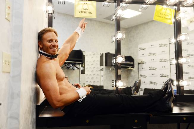 Chippendales and guest host Ian Ziering at The Rio on ...