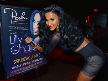 Lilly Ghalichi hosts at Crazy Horse III on Saturday, June 8, 2013.
